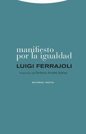 Manifiesto Por La Igualdad - Luigi Ferrajoli