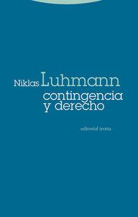 contingencia y derecho - Niklas Luhmann