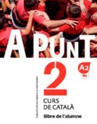 A Punt - Curs De Catala - Alumne 2 - Albert Vilagrasa