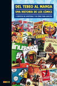 DEL TEBEO AL MANGA 9 - UNA HISTORIA DE LOS COMICS