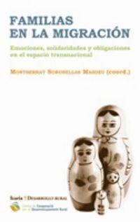 Familias En La Migracion - M.  Soronellas Masdeu (coord. )