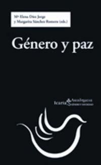 GENERO Y PAZ