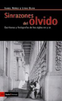 SINRAZONES DEL OLVIDO