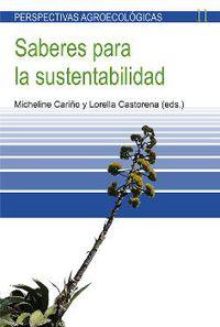 Saberes Para La Sustentabilidad - Micheline Cariño