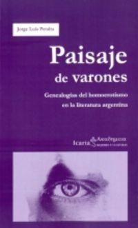 Paisaje De Varones - Jorge Luis Peralta