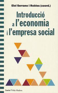 INTRODUCCIO A L'ECONOMIA I L'EMPRESA SOCIAL
