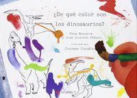 de que color son los dinosaurios - Dina Buneeva