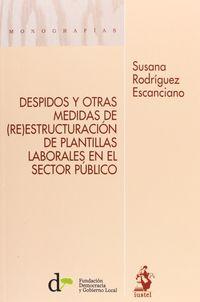 Despidos Y Otras Medidas De (re) Estructuracion De Plantillas - Susana Rodriguez Escanciano