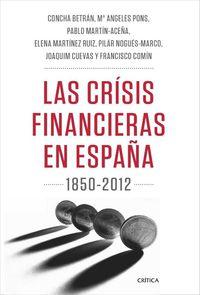 1850-2012, Las -  Teoria E Historia crisis financieras en españa - Pablo Martin Aceña