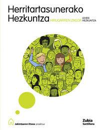 LH 5 / 6 - HERRITARTASUNERAKO HEZKUNTZA - JAKINTZAREN ETXEA