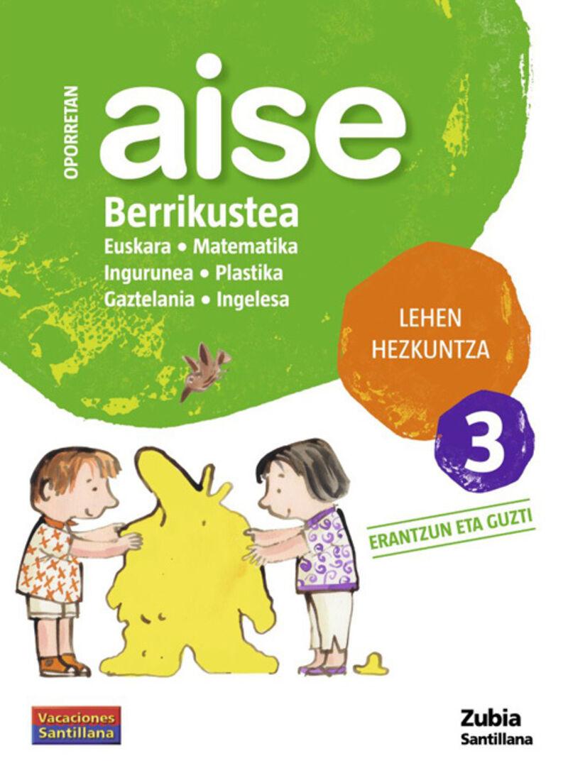 LH 3 - OPORRETAN AISE - BERRIKUSTEA