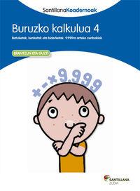 LH - BURUZKO KALKULUA 4