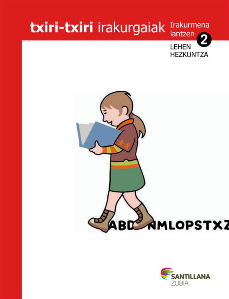LH 2 - TXIRI-TXIRI - IRAKURMENA LANTZEKO FITXAK - JAKINTZAREN BIDEAK