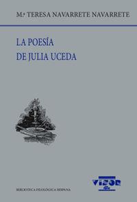 La poesia de julia uceda - Mª Teresa Navarrete Navarrete