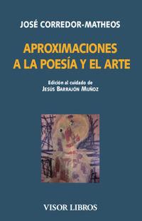 APROXIMACIONES A LA POESIA Y EL ARTE