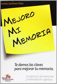 Mejoro Mi Memoria - Andres Sardinero Peña