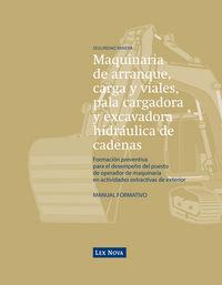 Operador De Maquinaria De Arranque, Carga, Viales, Pala Cargadora - Adriano Morales Manzanero