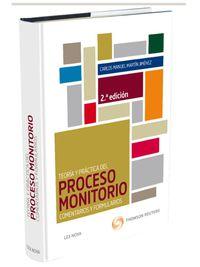 (2ª Ed. )  Teoria Y Practica Del Proceso Monitorio - Carlos Manuel Martin Jimenez