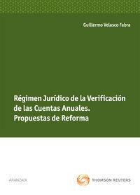 Regimen Juridico De La Verificacion De Las Cuentas Anuales - Guillermo Velasco Fabra