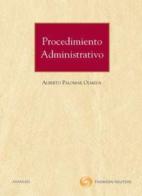 Procedimiento Administrativo - Alberto Palomar Olmeda