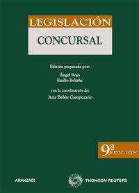 (9ª Ed. )  Legislacion Concursal - Aa. Vv.