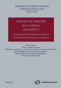 Tratado De Derecho De La Familia Vi - Matilde  Cuena Casas (ed. )