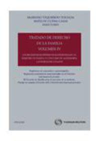 Tratado De Derecho De La Familia Iv - Matilde  Cuena Casas (ed. )  /  M.   Yzquierdo Tolsada (ed. )
