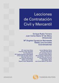 Lecciones De Contratacion Civil Y Mercantil - Mª A. Egusquiza Balmaseda
