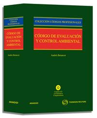 Codigo De Evaluacion Y Control Ambiental - Aa. Vv.