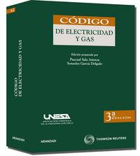 (3ª Ed. )  Codigo De Electricidad Y Gas - Sonsoles Garcia Delgado