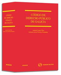 CODIGO DE DERECHO PUBLICO DE GALICIA