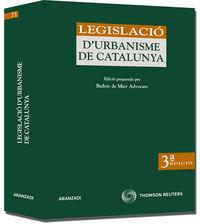 (3ª ED) LEGISLACIO D'URBANISME DE CATALUNYA