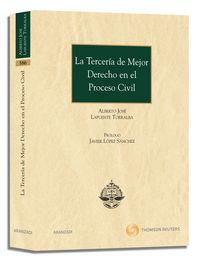 Terceria De Mejor Derecho En El Proceso Civil - Alberto Lafuente Torralba