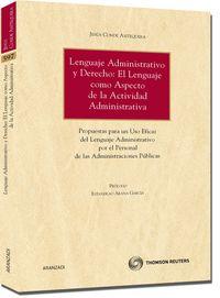 Lenguaje Administrativo Y Derecho - Jesus Conde Antequera