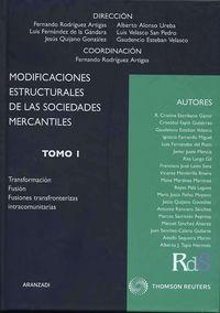 Modificaciones Estructurales De Las Sociedades Mercantiles - Fernando Rodriguez Artigas