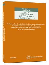Ley De Jurisdiccion Contencioso-administrativa - Aa. Vv.