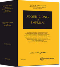 Regimen Juridico De Las Adquisiciones De Empresas (3ª Ed) - Aa. Vv.