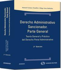 Derecho Administrativo Sancionador - Parte General (2ª Ed. ) - Maria Jose Gomez Tomillo