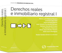 DERECHOS REALES E INMOBILIARIO REGISTRAL I