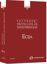 (3ª Ed. )  Factbook Proteccion De Datos Personales - Aa. Vv.