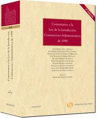 Comentarios A La Ley De La Jurisdiccion Contencioso (4ª Ed. ) - Aa. Vv.