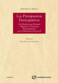 Los presupuestos participativos - Jose Molina Molina
