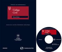 (10ª Ed. )  Codigo Civil (+cd-rom) - Francisco Fernandez Urzainqui