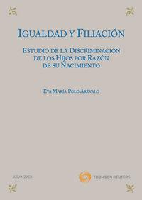 Igualdad Y Filiacion - Eva Maria Polo Arevalo