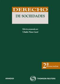 Derecho De Sociedades (2ª Ed) - Ubaldo Nieto Carol