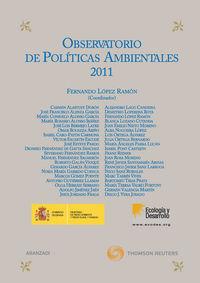 Observatorio De Politicas Ambientales 2011 - Fernando Lopez Ramon