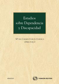 Estudios Sobre Dependencia Y Discapacidad - Maria Del Carmen Garcia