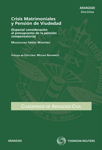 Crisis Matrimoniales Y Pension De Viudedad - Magdalena Ureña Martinez