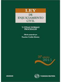 (16ª Ed. )  Ley De Enjuiciamiento Civil Y Otras Normas Procesales - Aa. Vv.