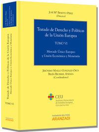 TRATADO DE DERECHO Y POLITICAS DE LA UNION EUROPEA (TOMO VI)